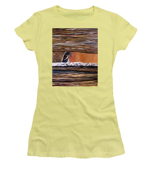 I See You Women's T-Shirt (Junior Cut) by Marilyn McNish