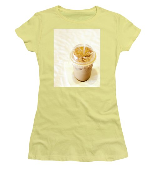 Iced Coffee 1 Women's T-Shirt (Athletic Fit)