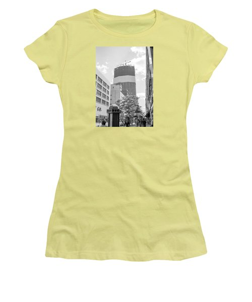 Ids Building Construction Women's T-Shirt (Athletic Fit)