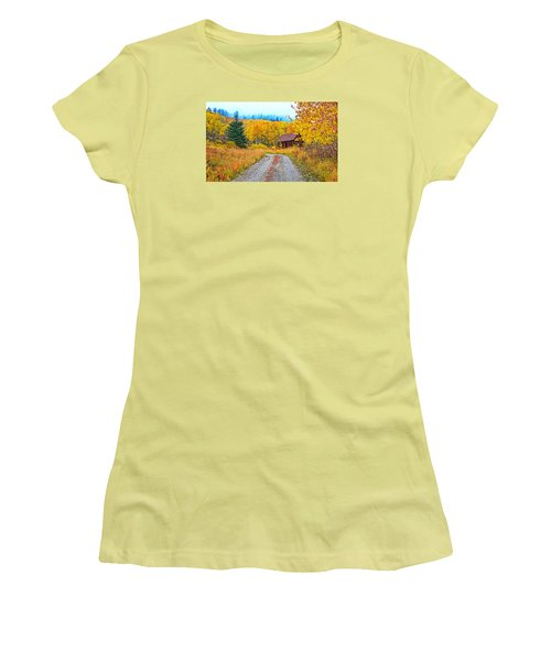 Idyllic Nostalgia Women's T-Shirt (Junior Cut) by Bijan Pirnia