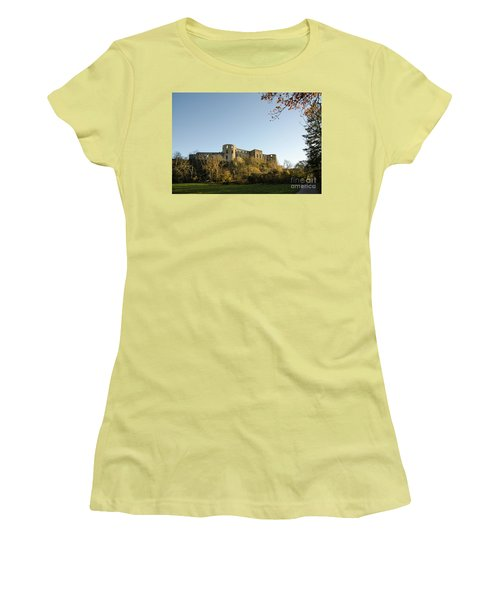 Women's T-Shirt (Athletic Fit) featuring the photograph If I Could Speak......... by Kennerth and Birgitta Kullman