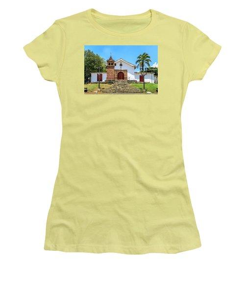 Iglesia De San Antonio Women's T-Shirt (Junior Cut)