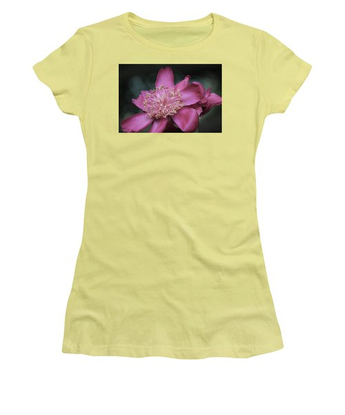 Women's T-Shirt (Athletic Fit) featuring the photograph Illuminant One by Deborah  Crew-Johnson