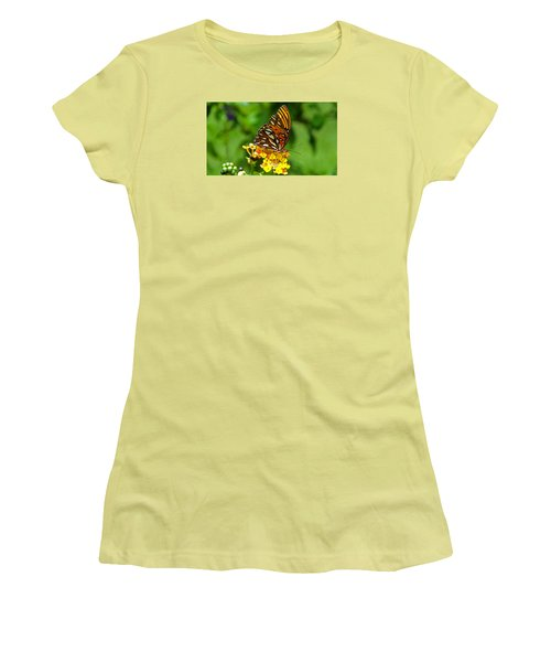 Illuminated Women's T-Shirt (Junior Cut) by Judy Wanamaker