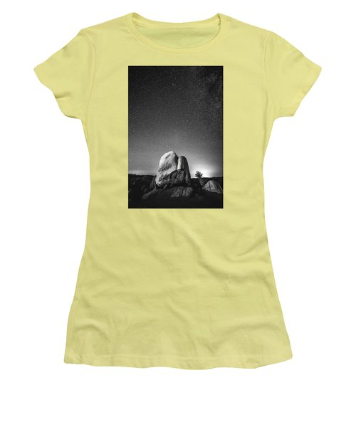 Women's T-Shirt (Junior Cut) featuring the photograph Illuminati V by Ryan Weddle