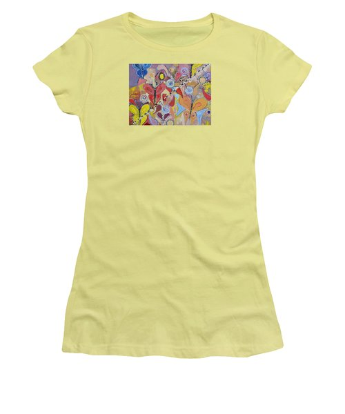 Imagination Land Women's T-Shirt (Athletic Fit)