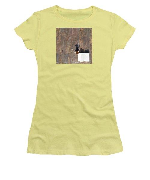 Imagination Women's T-Shirt (Junior Cut) by Vincent Lee