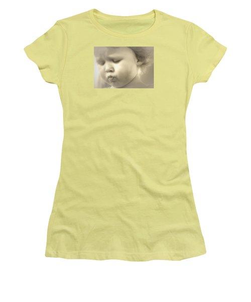 Immanuel Women's T-Shirt (Junior Cut) by The Art Of Marilyn Ridoutt-Greene
