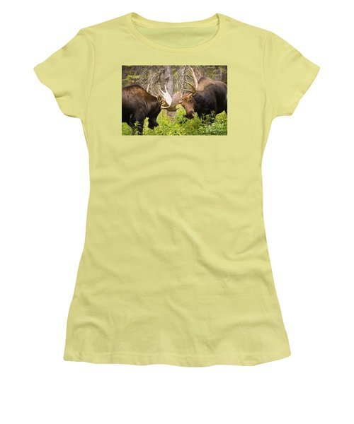 Women's T-Shirt (Junior Cut) featuring the photograph The Approach  by Aaron Whittemore