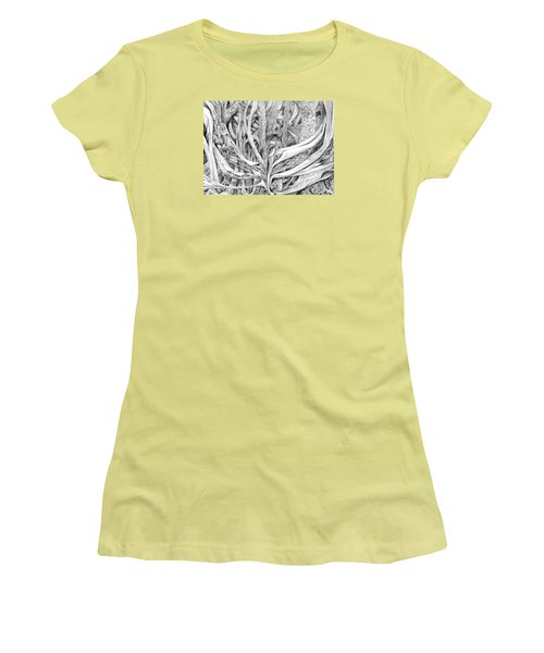 Impenetrable Women's T-Shirt (Junior Cut) by Charles Cater