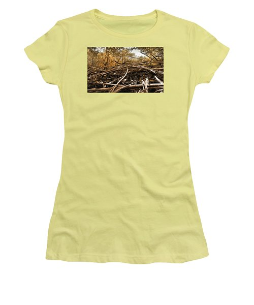 Impenetrable Women's T-Shirt (Junior Cut) by Steve Sperry