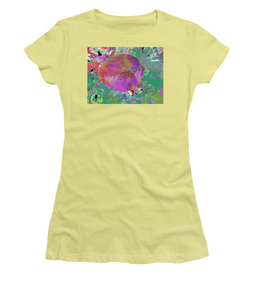 Imposition Of Leaf At The Season 4 Women's T-Shirt (Athletic Fit)