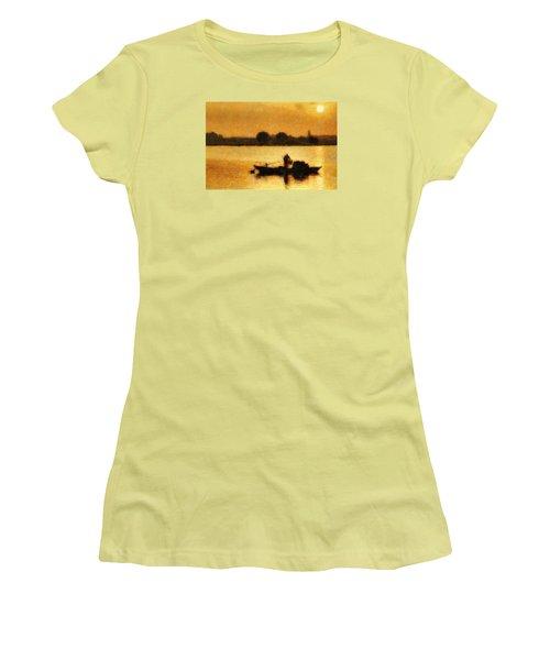 Impressionist Dawn Women's T-Shirt (Athletic Fit)