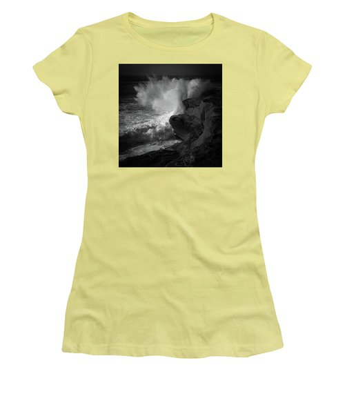 Women's T-Shirt (Junior Cut) featuring the photograph Impulse by Ryan Weddle