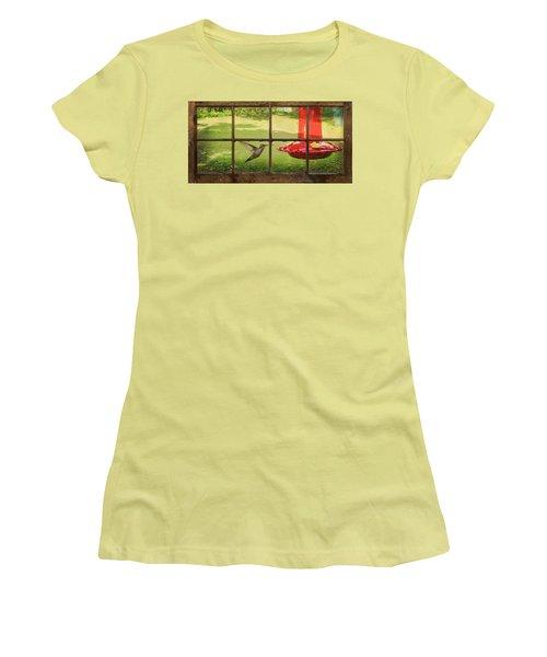 In Flight Women's T-Shirt (Junior Cut) by Denis Lemay