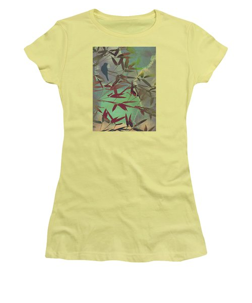 In The Bamboo Forest Women's T-Shirt (Athletic Fit)