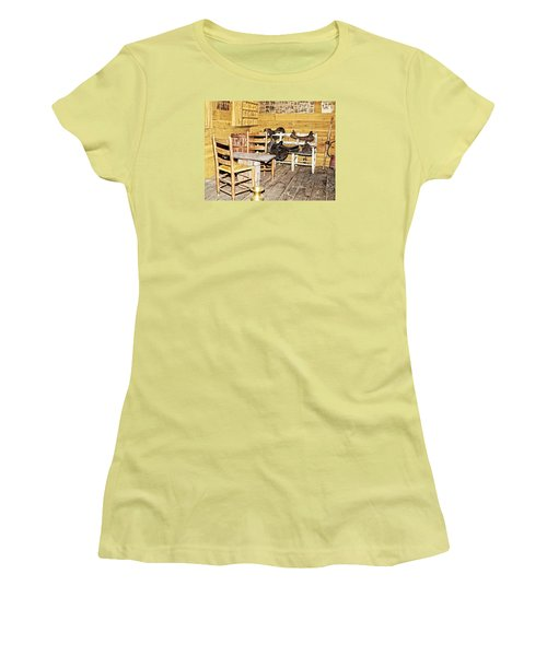 In The Barn Women's T-Shirt (Athletic Fit)