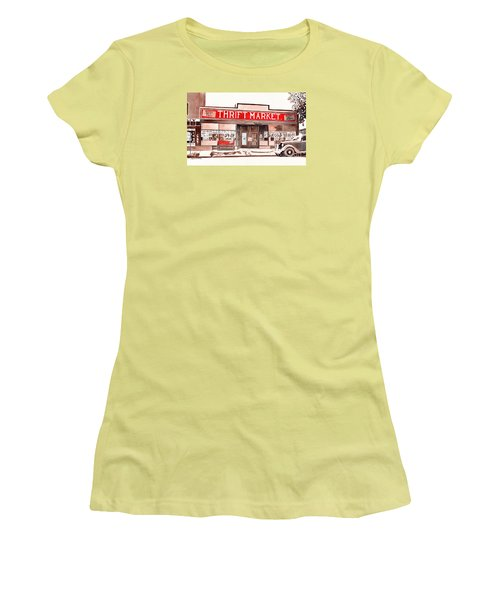 In The Beginning Women's T-Shirt (Junior Cut) by LeAnne Sowa