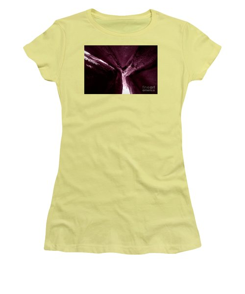 In The Belly Of A Two Headed Giant Women's T-Shirt (Athletic Fit)