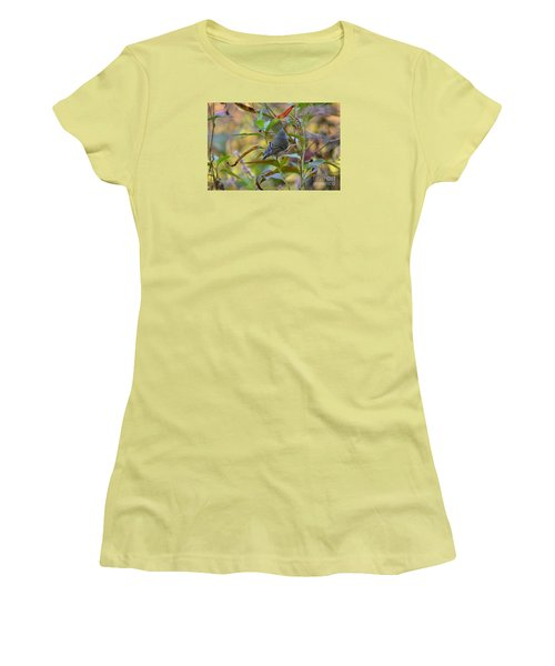 Women's T-Shirt (Junior Cut) featuring the photograph In The Light by Kathy Gibbons