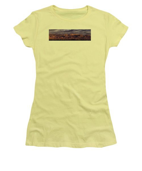 In The Morning Light Women's T-Shirt (Junior Cut) by Ed Clark