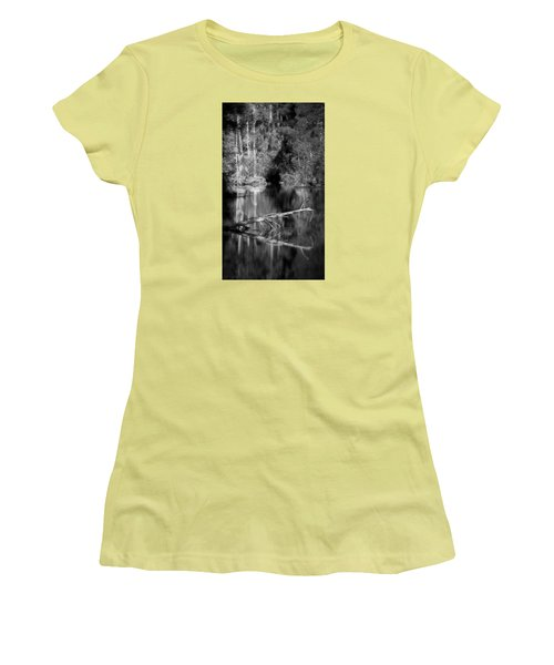 In The Quiet Women's T-Shirt (Junior Cut) by Allen Beilschmidt