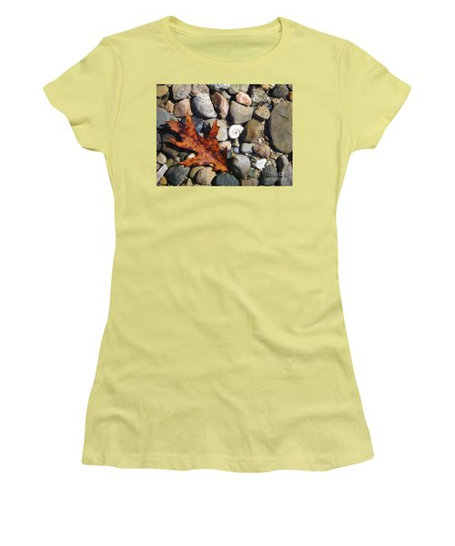 In The Shallows Women's T-Shirt (Junior Cut) by Gerald Strine