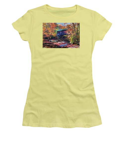 Indian Summer Women's T-Shirt (Athletic Fit)