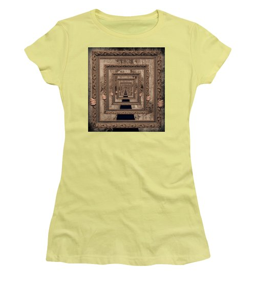 Infinity Women's T-Shirt (Junior Cut) by Anna Rumiantseva
