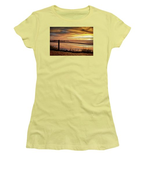 Inlet Watch At Dawn Women's T-Shirt (Athletic Fit)
