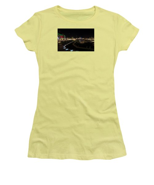 Inner Harbour Of Victoria Bc Women's T-Shirt (Junior Cut) by Marilyn Wilson