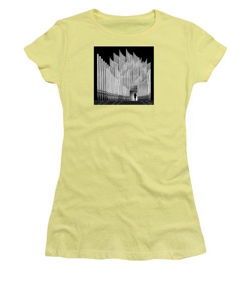 Inspirational Walk Women's T-Shirt (Junior Cut) by Joe Bonita