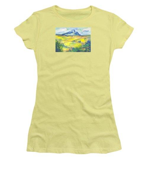 Inspired By Cezanne Women's T-Shirt (Junior Cut) by Connie Schaertl