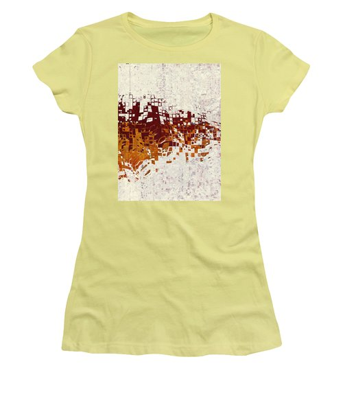 Insync Women's T-Shirt (Junior Cut) by The Art Of JudiLynn