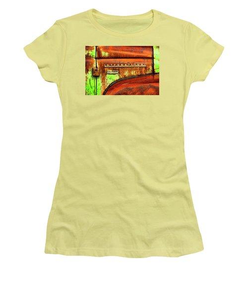 International Mcintosh  Horz Women's T-Shirt (Junior Cut) by Jeffrey Jensen