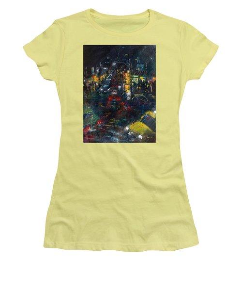 Intersection Women's T-Shirt (Junior Cut) by Leela Payne