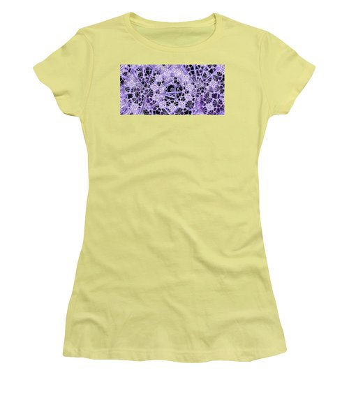 Women's T-Shirt (Junior Cut) featuring the digital art Interwoven by Ron Bissett