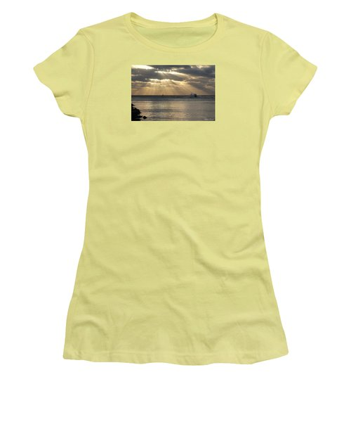 Into Dawn's Early Rays Women's T-Shirt (Junior Cut) by Robert Banach