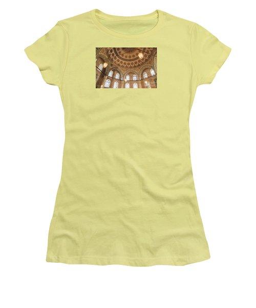 Women's T-Shirt (Junior Cut) featuring the photograph Into The Hagia Sophia Mausoleum by Yuri Santin