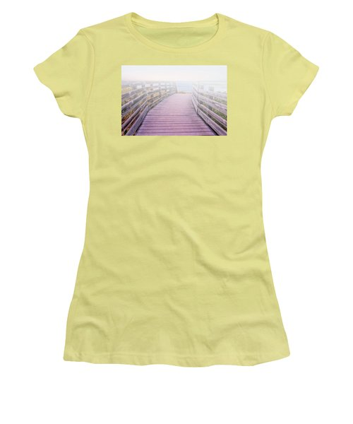 Into The Mist Women's T-Shirt (Junior Cut) by Swank Photography