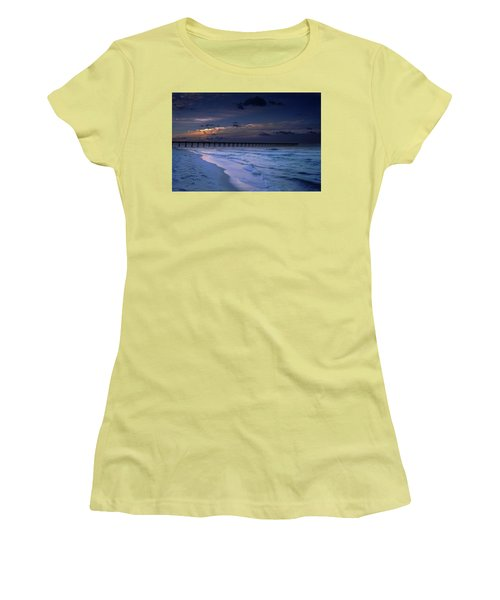 Into The Night Women's T-Shirt (Athletic Fit)