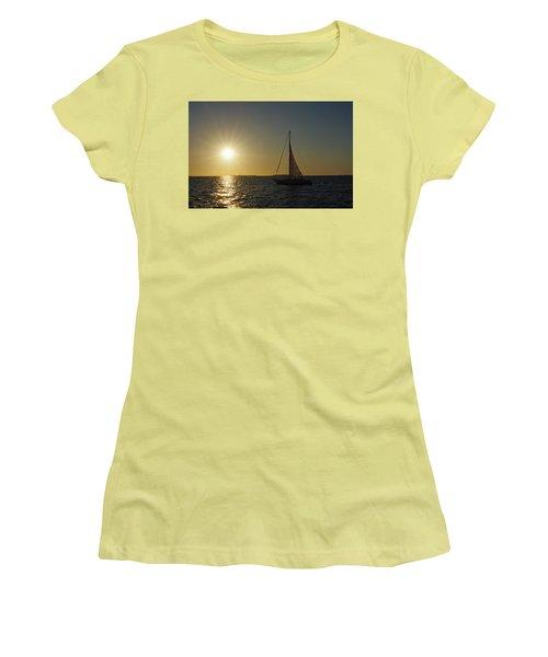 Into The Sun Women's T-Shirt (Junior Cut) by Greg Graham