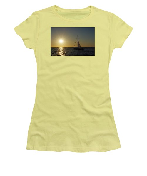 Into The Sun Women's T-Shirt (Athletic Fit)