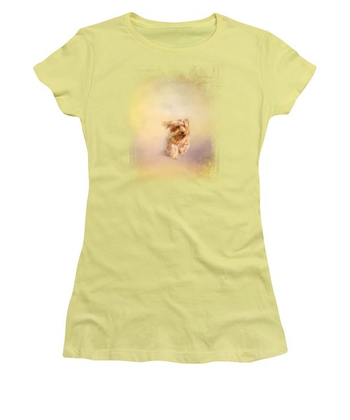 Into The Wind Women's T-Shirt (Junior Cut) by Jai Johnson