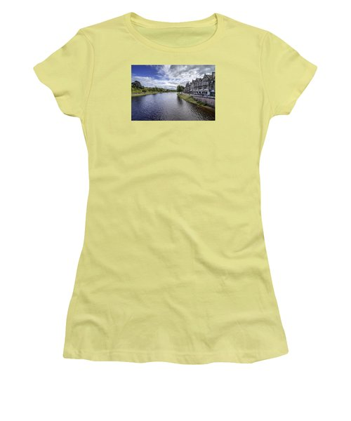 Women's T-Shirt (Junior Cut) featuring the photograph Inverness by Jeremy Lavender Photography