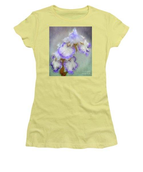 Iris After The Rain Women's T-Shirt (Junior Cut) by Suzanne Handel