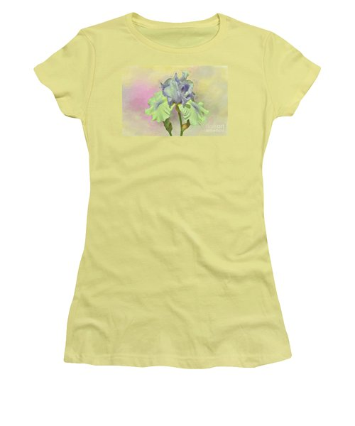 Iris Pastels Women's T-Shirt (Junior Cut) by Suzanne Handel
