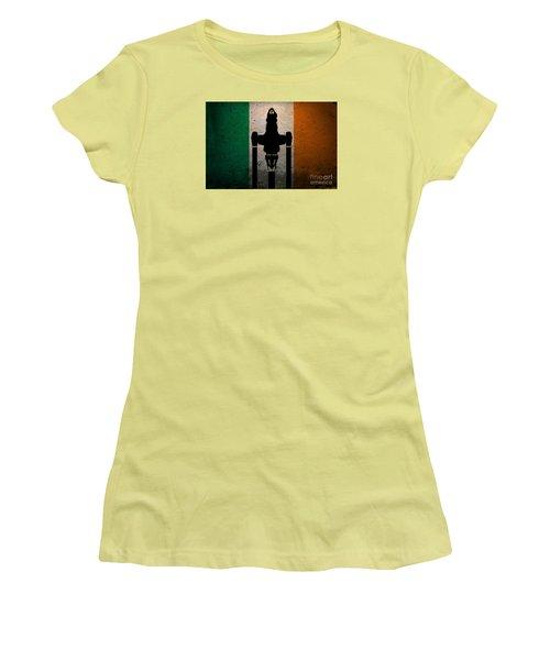 Irish Brown Coats Women's T-Shirt (Junior Cut) by Justin Moore