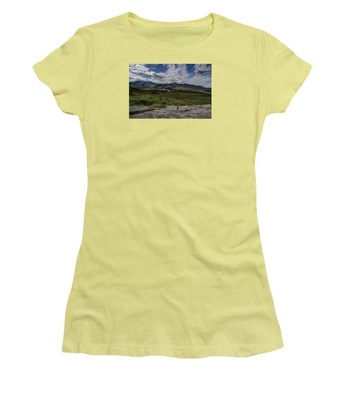 Irish Sky - Wicklow Mountains Women's T-Shirt (Athletic Fit)
