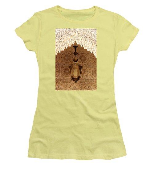 Islamic Plasterwork Women's T-Shirt (Junior Cut) by Ralph A  Ledergerber-Photography